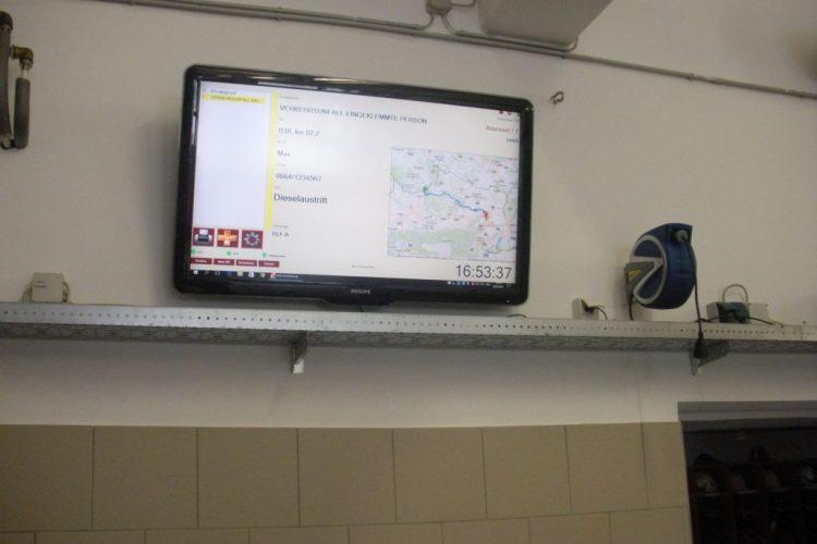 Interne Neuigkeiten – Großbildschirm Visualisierung NEU